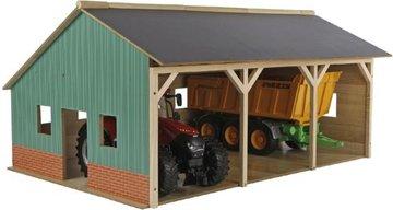 Tractor-loodsen