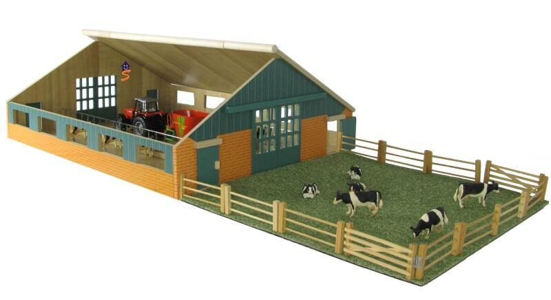 koeien boerderij om te spelen