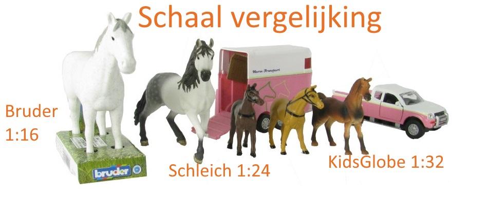 speelgoed paarden vergelijken