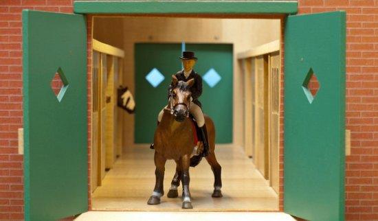 Uitgelezene Paardenstal voor Schleich paarden CL-56