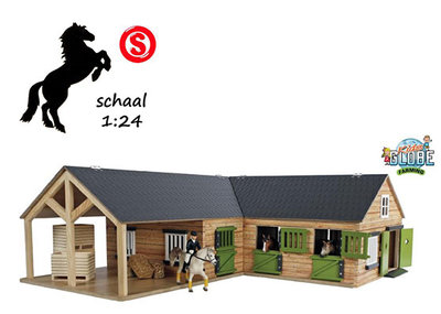 Kids Globe Farming paardenstal