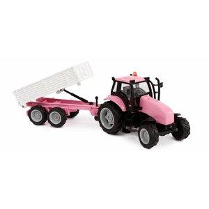 510241-roze-tractor-met-aanhanger.JPG