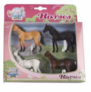 kids-globe-horses-4-paarden-640085