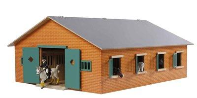 Kids Globe 610595 Paardenstal met 7 boxen (schaal 1:24)
