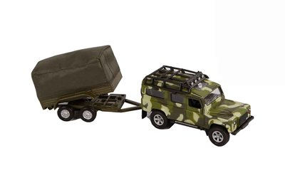 Kids Globe militair voertuig