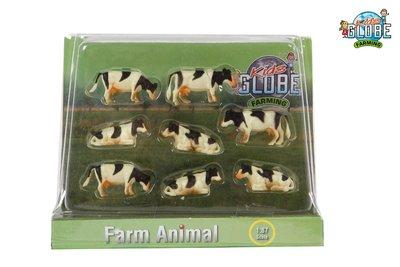 Kids globe koeien schaal 1:87