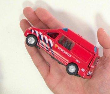 brandweer speelgoed bus