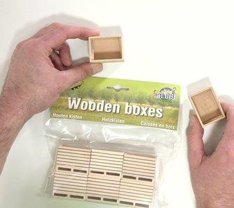 houten kistjes