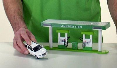 speelgoed tank station