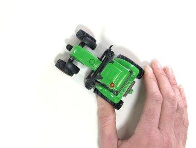 speelgoed trekker groen