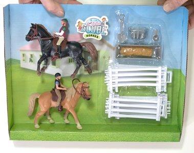speelset paarden