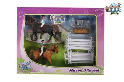 Kids Globe paardenspeelset